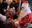 В Белоусовском парке Тулы открылась резиденция Деда Мороза