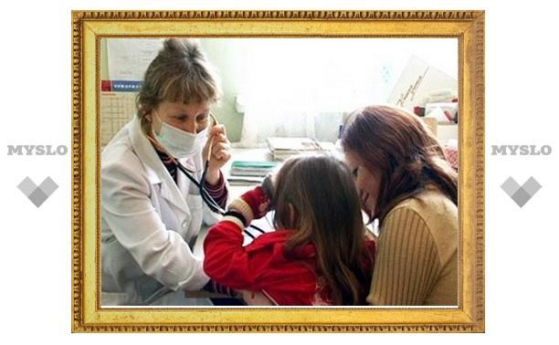 В Тульской области за сутки заболело пять тысяч человек