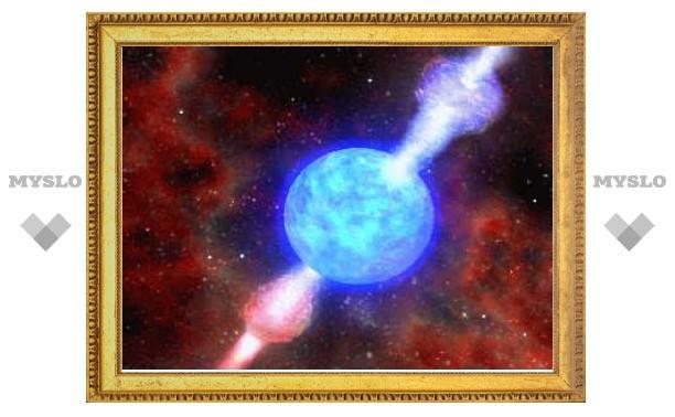 Удаленный гамма-всплеск подтвердил правоту Эйнштейна