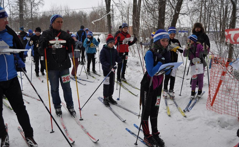 В Туле прошли областные соревнования по спортивному ориентированию на лыжах