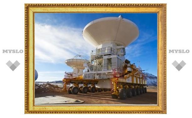 Астрономы завершили сборку минимальной конфигурации ALMA