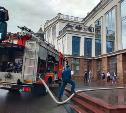 Пожар в «Гостином дворе»: эвакуировано 135 человек