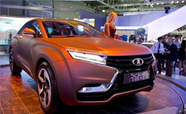 На Московском автосалоне представили новую Lada XRAY