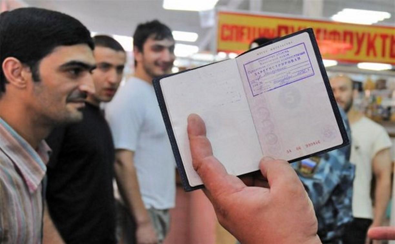 Тулячка зарегистрировала у себя 101 иностранца