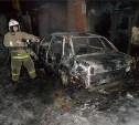 Ночью в Туле сгорел очередной автомобиль
