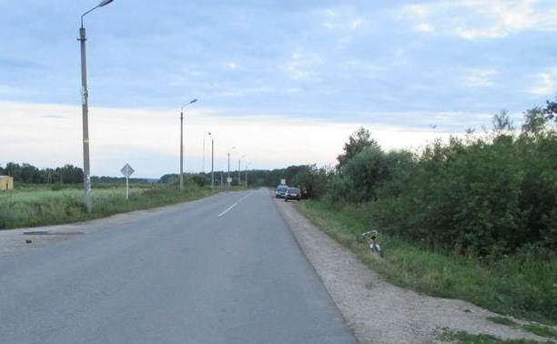 Шестилетний велосипедист пострадал в аварии на дороге «Алексин-Заокский»