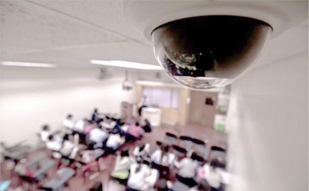 Тульские школы оборудовали видеонаблюдением
