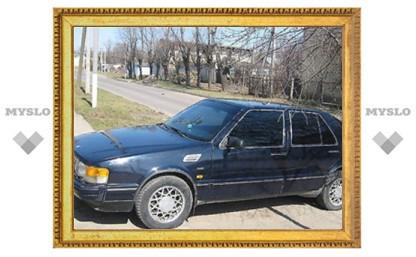 Два туляка на суд по уголовному делу приехали на угнанном автомобиле
