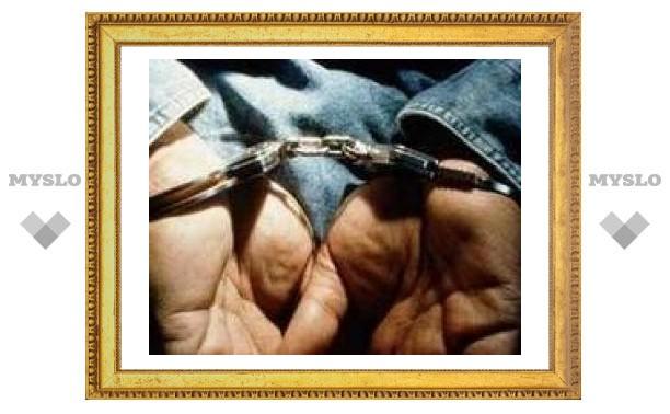 Под Тулой задержали охранника из Подмосковья