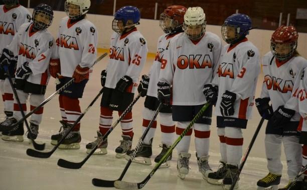 Алексинские хоккеисты стали третьими на домашнем турнире