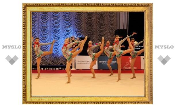 Тульские гимнастки из «Роксэта» завоевали комплект медалей