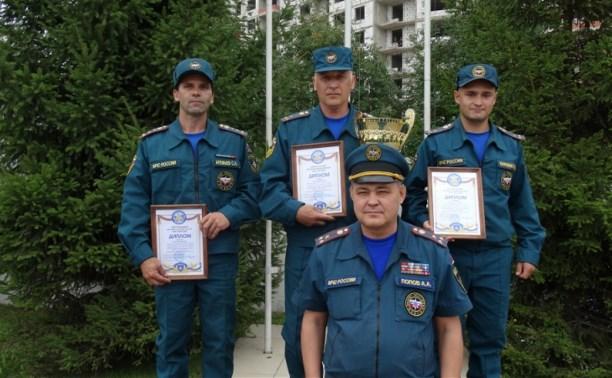Лучший начальник караула МЧС в Центральном округе работает в Тульской области