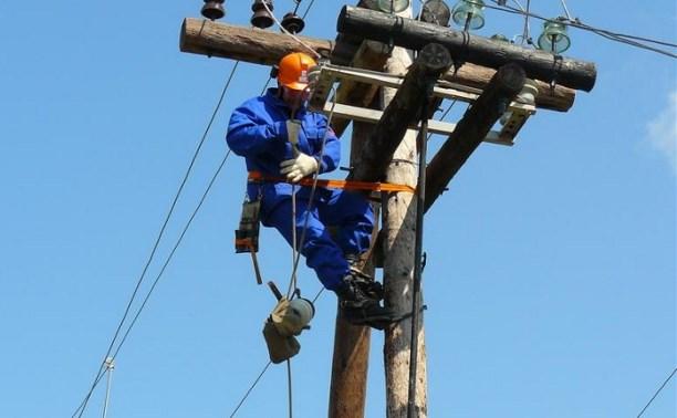 В Суворовском и Одоевском районах восстановлено электроснабжение
