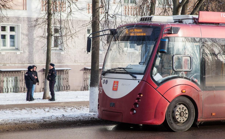 В тульском троллейбусе обнаружили бесхозный пакет
