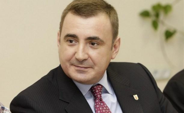 Туляки поздравили губернатора региона Алексея Дюмина с днем рождения