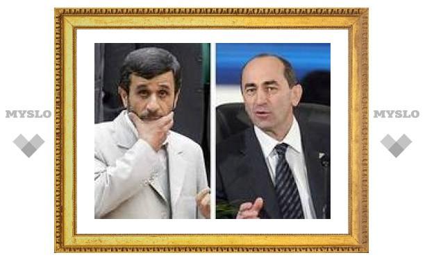 Открыт газопровод для поставок иранского газа в Армению