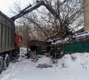 В Центральном округе Тулы сносят аварийные постройки