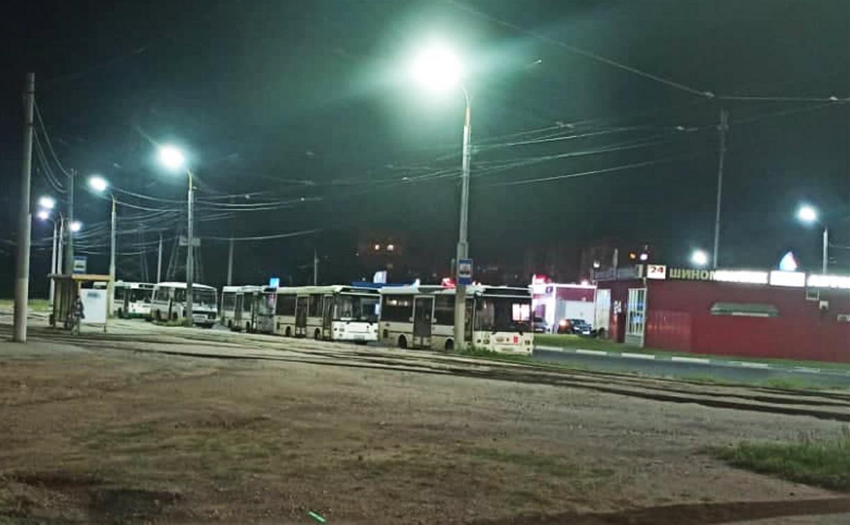 В Туле городским автобусам негде ночевать?