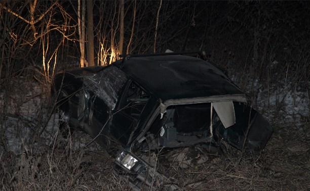 В аварии на трассе «Тула-Новомосковск» легковушку разорвало пополам