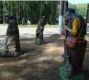 В Центральном парке поселились Красная Шапочка, Баба-яга и кот Леопольд