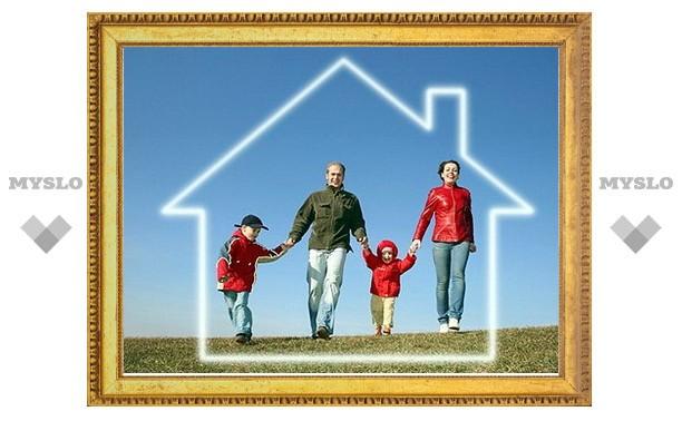Многодетным семьям выделят бесплатную землю