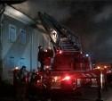 В Заречье загорелся бывший кинотеатр «Комсомольский»