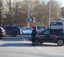 На перекрёстке улицы Рязанской и Городского переулка отключили светофор