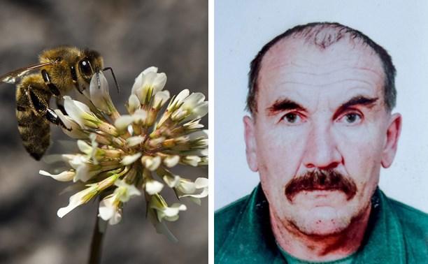 Пчелы насмерть закусали мужчину в Тульской области