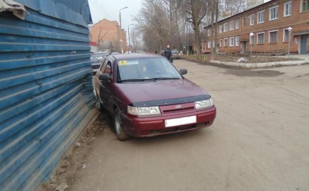 В Узловском районе пьяная автолюбительница сбила пенсионерку