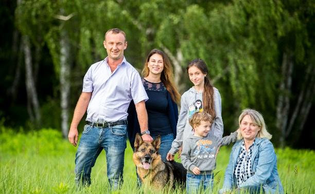Собака вернулась в семью спустя семь месяцев после пропажи