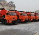 60 единиц техники чистят Тулу от снега