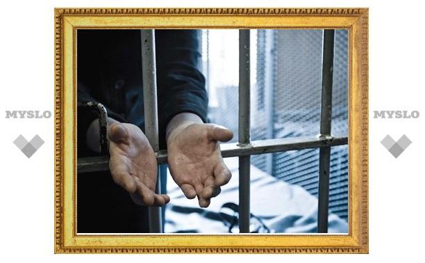 По Тулой мужчина сел на 8 лет за покушение на полицейского