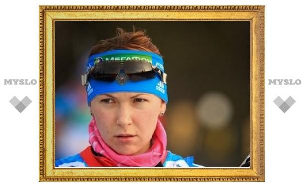 Российская биатлонистка получила травму при падении