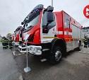 В Туле министр МЧС осмотрел пожарную и спасательную технику