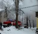 В Менделеевском поселке при пожаре погиб мужчина