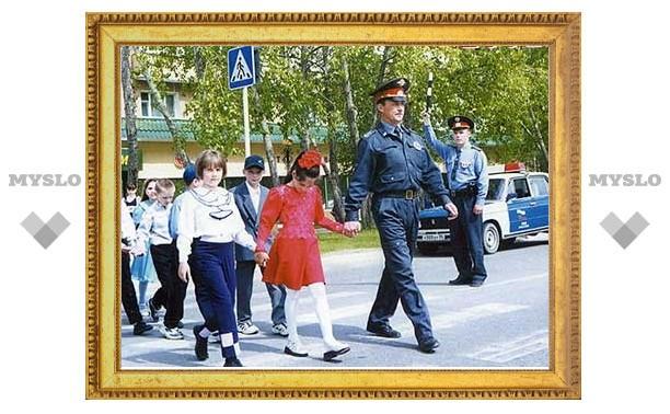 Новомосковских детей защитят от ДТП