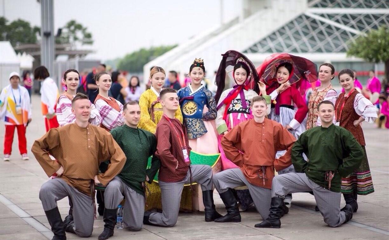 Тульские ансамбли «Услада» и «Визави» представили Россию на параде в Пекине