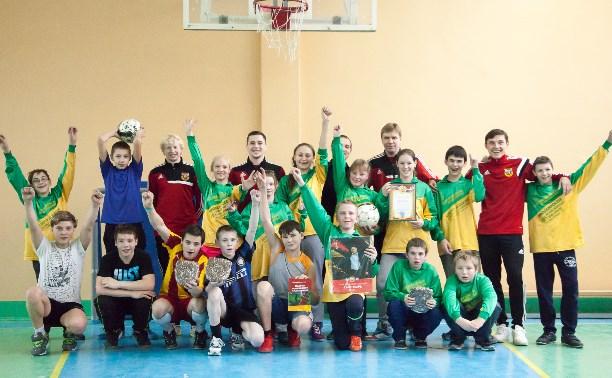 """Футболисты """"Арсенала-2"""" провели мастер-класс для учеников школы-интерната"""