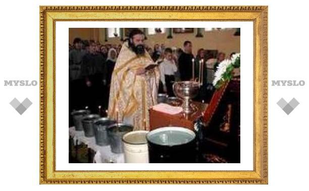 Где тулякам набрать Крещенской воды