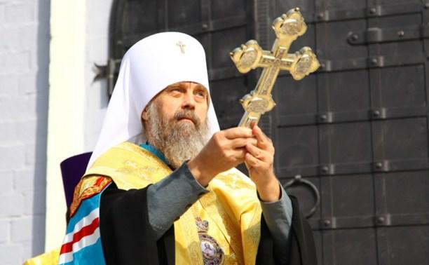 В Тульском кремле освятили колокольню