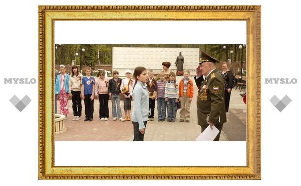 В Туле прошла эстафета Победы