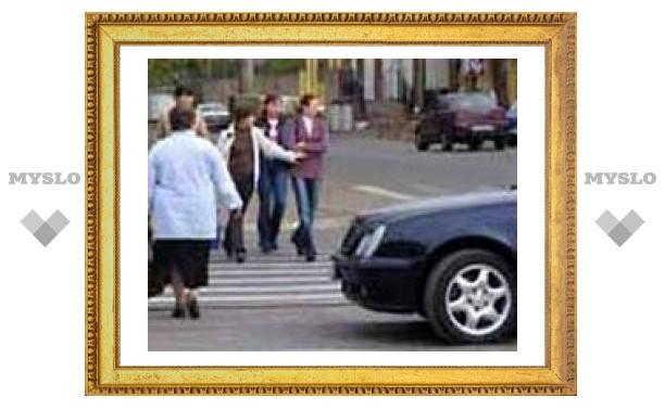 В Тульской области сбили пешехода