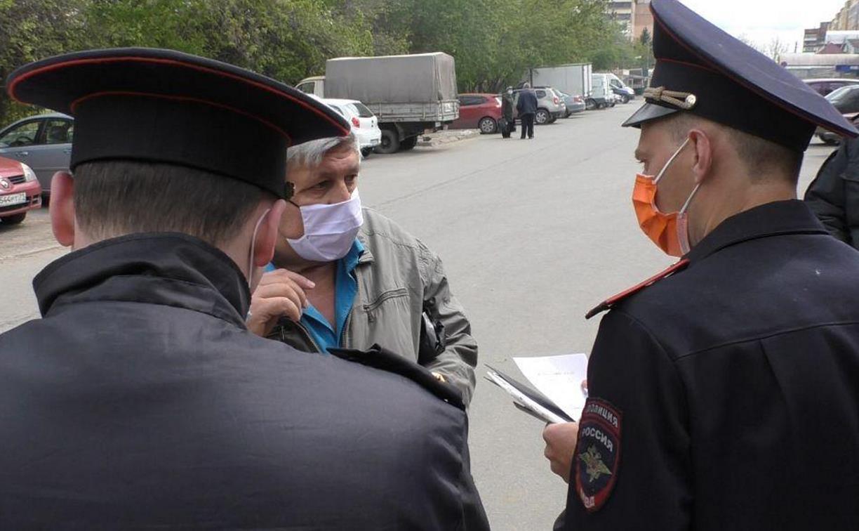 В Туле начали штрафовать за отсутствие маски в общественных местах: репортаж