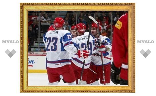 Молодежная сборная России по хоккею начала чемпионат мира с победы