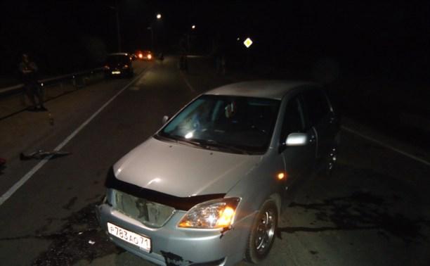 На Венёвском шоссе экс-десантник бросил машину после ДТП и скрылся