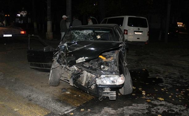 В ДТП на пр. Ленина в Туле ранены два человека