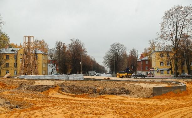 Успеют ли в срок благоустроить Кировский сквер?