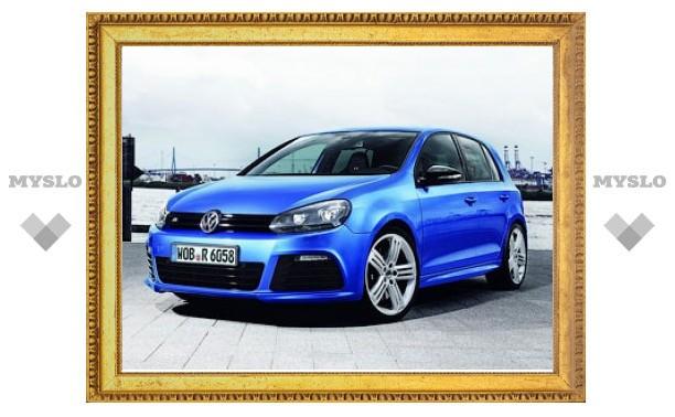 Мощность VW Golf R для России снизили из-за транспортного налога
