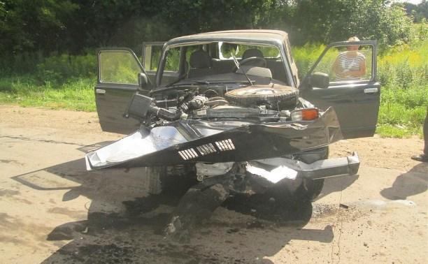 86-летний водитель «Нивы» протаранил «Тойоту»: пострадали двое