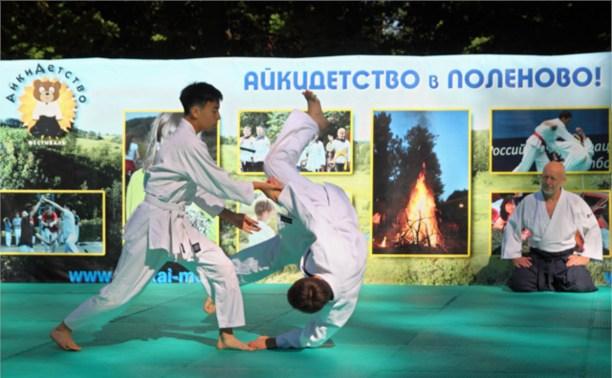 В Детской республике Поленово состоялся фестиваль «Айкидетство»